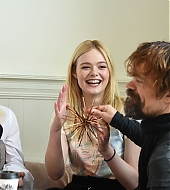elle fanning, peter dinklage, i think we're alone now, sundance, 2018