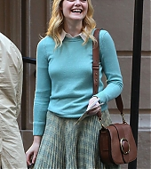 elle fanning, candid, new york city, october 18 2017