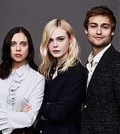 elle fanning, douglas booth, bel powley, mary shelley, tiff 2017