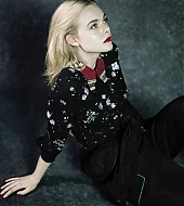 elle fanning, loficiel, mathieu cesar, photoshoot