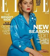 elle fanning, magazines, 2017