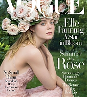 elle fanning, vogue