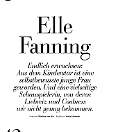 elle fanning, style germany, 2017, scans